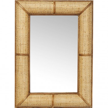 Espelho Bamboo 90x65cm