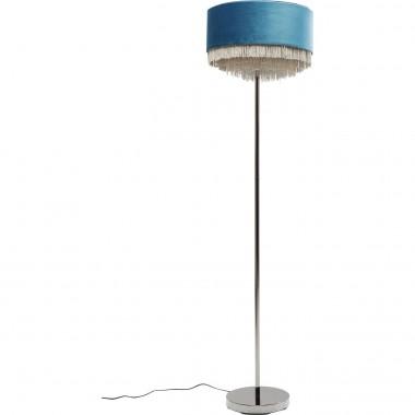 Lampadaire Tassel bleu pétrole Kare Design
