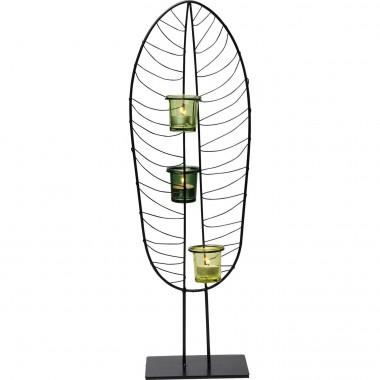 Porta velas Leaf Wire 67cm