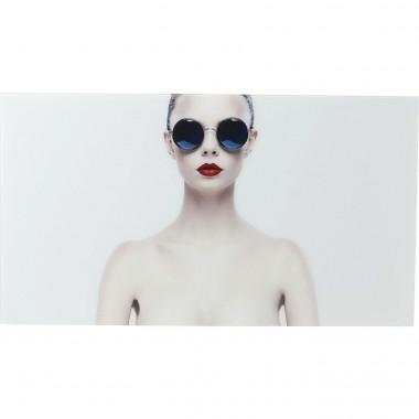 Quadro de Vidro Naked Lady 80x150cm