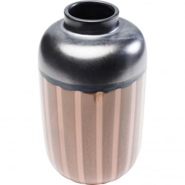 Vase Mocca Stripes 28cm Kare Design