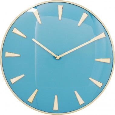 Relógio de Parede Malibu Light Azul Ø40cm