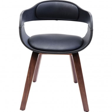 Cadeira de braços Costa Walnut