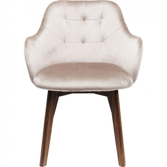 Cadeira de braços Lady em veludo Cinzento-83410 (7)
