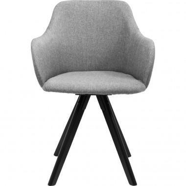 Cadeira Rotativa Madame Cinzenta