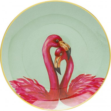 Prato Flamingo Couple Ø27cm