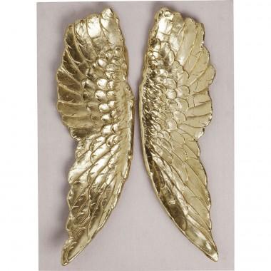 Decoração de Parede Wings Gold 110x80cm