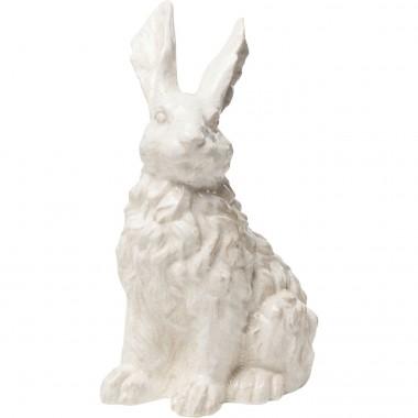 Déco lapin blanc 47cm Kare Design