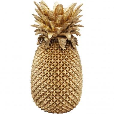 Vase Ananas doré 50cm Kare Design