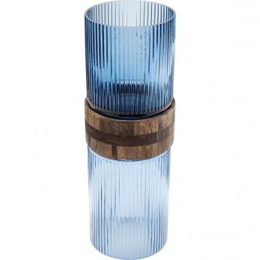 Vase Rim bleu 36cm Kare Design