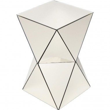 Table d'appoint Luxury Triangle champagne Kare Design