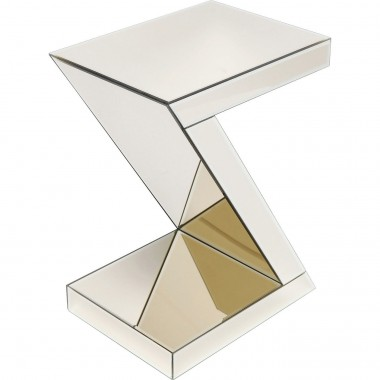 Table d'appoint Luxury Z champagne Kare Design