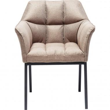 Cadeira de braços Thinktank Castanha