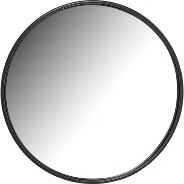 Espelho Celebration Preto Mate Ø80cm