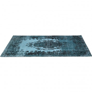 Tapis Kelim Pop turquoise 200x140cm Kare Design