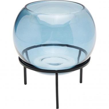 Vase Oracle bleu 15cm Kare Design