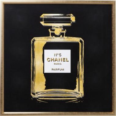 Quadro c/ moldura Fragrance 115x115cm