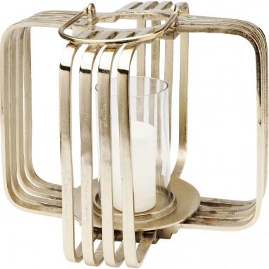 Lanterna Cage dourada Big