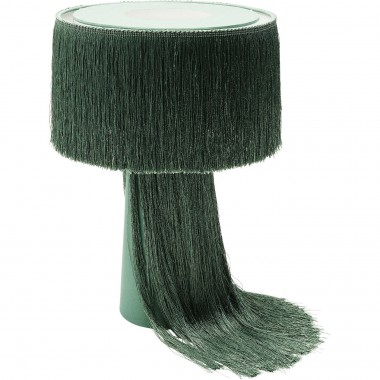 Candeeiro de Mesa Fringes Verde