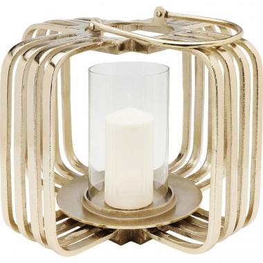 Lanterna Cage dourada Small