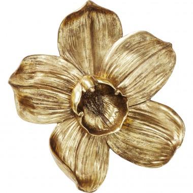 Decoração de Parede Orchid Dourada 44cm