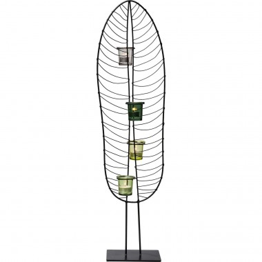 Porta velas Leaf Wire 86cm