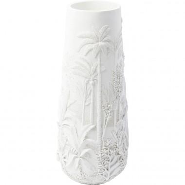 Vase Jungle blanc 83cm Kare Design