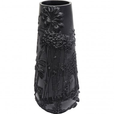 Vase Jungle noir 83cm Kare Design