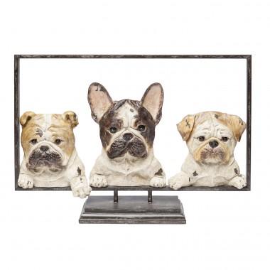 Déco Dogs with Frame 63cm Kare Design