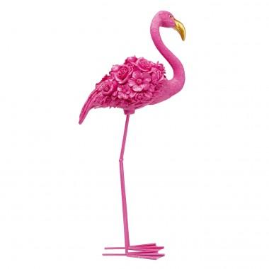 Objet décoratif Flamingo Flower fuchsia 75cm