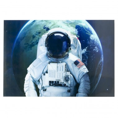 Quadro de Vidro Astronaut 120x180cm
