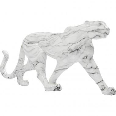 Déco Léopard effet marbre XL 129cm Kare Design