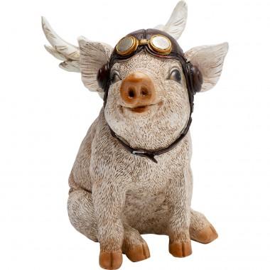 Déco cochon aviateur Kare Design