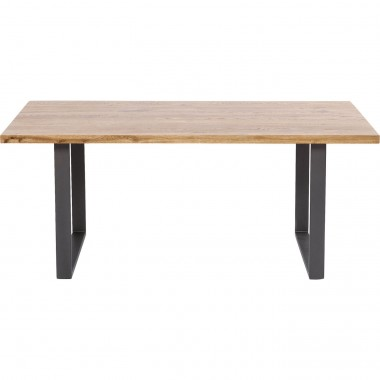 Mesa Jackie Oak Crude Steel 160x80