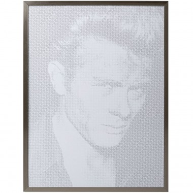 Quadro c/ moldura Idol Pixel James 104x79cm