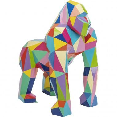 Déco Gorille multicolore XL 150cm Kare Design
