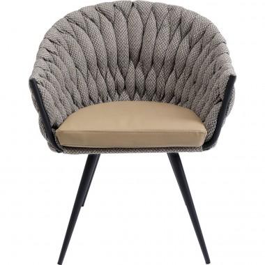 Cadeira de braços Knot Tweed