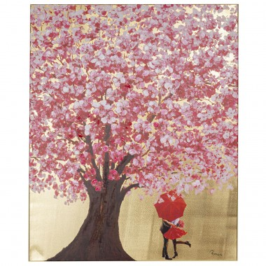 Tableau Touched Flower Couple 100x80cm Kare Design