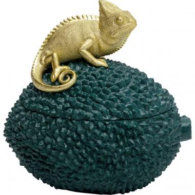 Caixa decorativa Chameleon 20cm-51562 (7)
