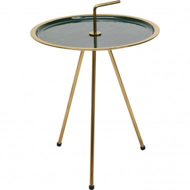 Table d'appoint Miami verte Kare Design