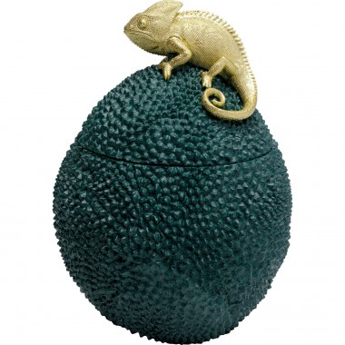 Caixa decorativa Chameleon 34cm