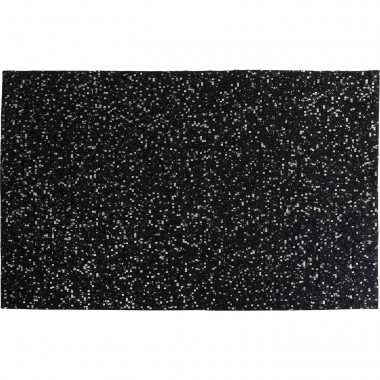 Tapis Glorious noir 170x240cm Kare Design