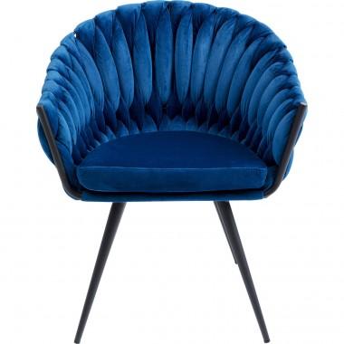 Cadeira de braços Knot Azul Navy