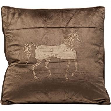 Almofada Applique Horse 45x45cm