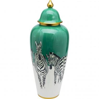 Pote Decorativo Zebras 63cm
