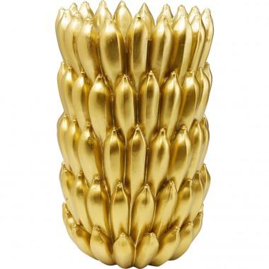 Vase Bananes doré 56cm Kare Design