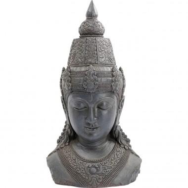 Peça Decorativa Asia Cinzenta 107cm