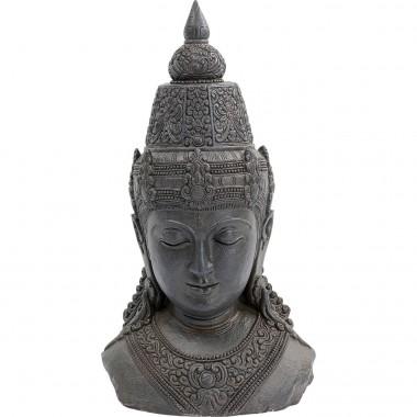 Peça Decorativa Asia Cinzenta 72cm