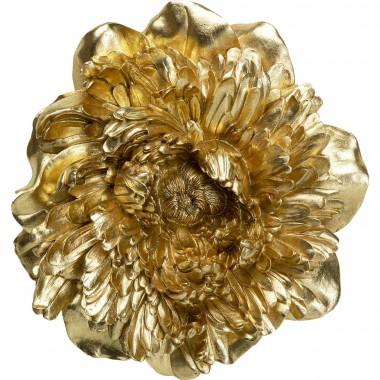 Decoração de Parede Peony Dourada