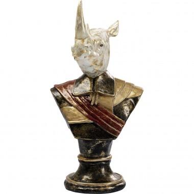 Peça Decorativa Bust Sir Rhino 97cm